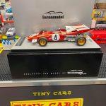 Ferrari 312 B2 F1 1971 Monaco GP Tecnomodel Scala 1:18