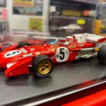 Ferrari 312 B2 n.5 British GP 1971 Looksmart Scala 1:43