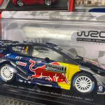 Ford Fiesta Rally 2017 edicola Francese scala 1:24