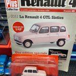 Renault 4 GTL Sixties edicola francese