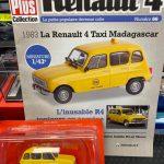 Renault 4 Taxi Madagascar edicola francese