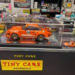 Stupenda Porsche Jagermeister scala 1:12 al primo che viene a prenderla solo 80€!!! Compresa vetrina!! Solo da Tiny Cars!!